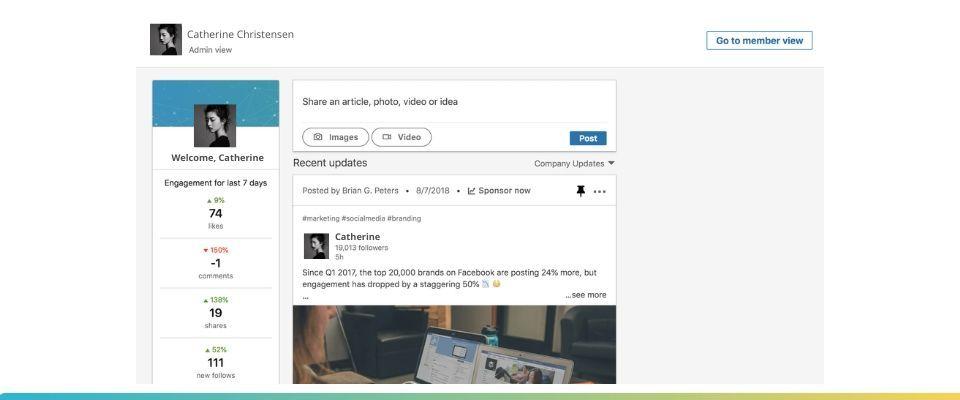 Over Posting on LinkedIn