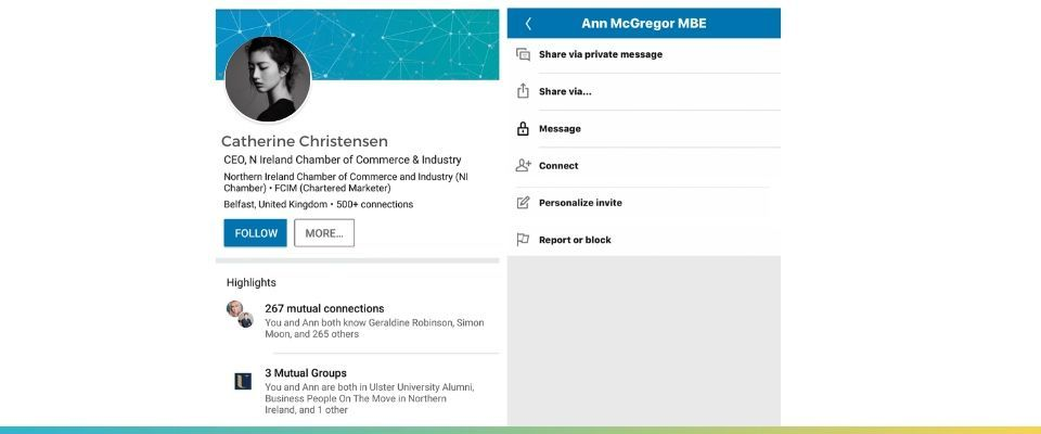 Not Personalizing Your LinkedIn Connection Requests